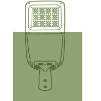 Tête de lampadaire