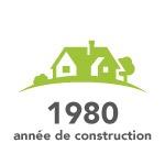 Année de construction 1980