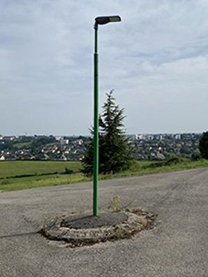 Tête de lampadaire CITYLIGHT