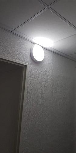Éclairage POGBO pour les halls