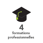 4 formations professionnelles