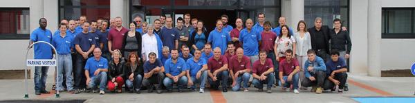 equipe de l'entreprise Ronco